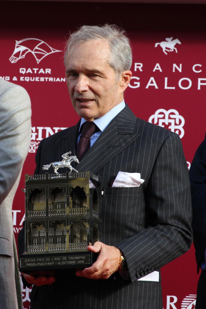 Andre Fabre won the Arc for the eighth time, a record. (Eclipse Sportswire)