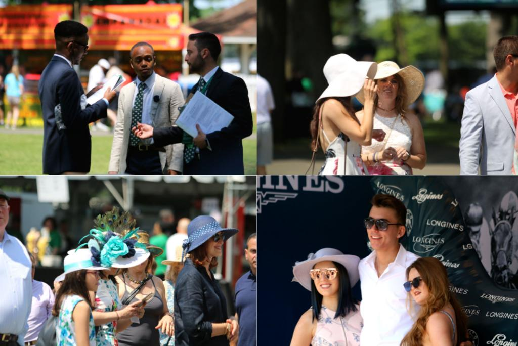 I arrived at Belmont Park a little after 9 a.m., and quickly settled my gear in the photo room. After that, I headed to the backyard to take in the scene; the track was already filling up with revelers ready for a great day at the races. (Penelope P. Miller/America's Best Racing)