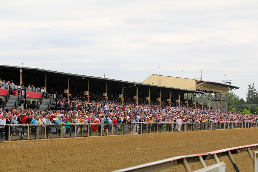 Before I knew it, I needed to head back to the track: after all, it was Preakness Stakes time! (Penelope P. Miller/America's Best Racing)