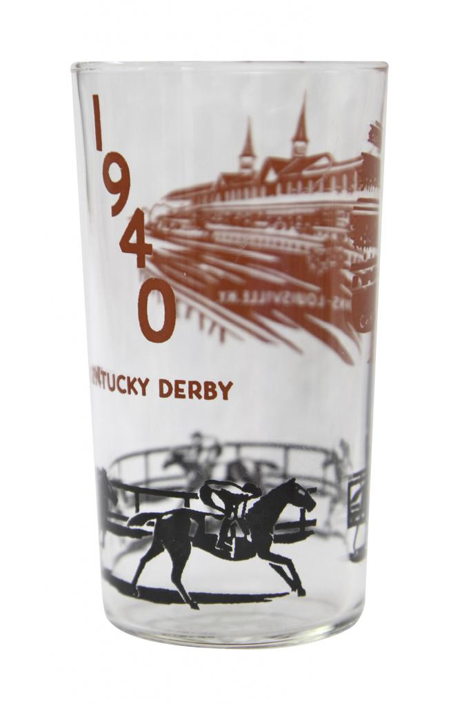 1940 Kentucky Derby julep glass (Courtesy Kentucky Derby Museum)