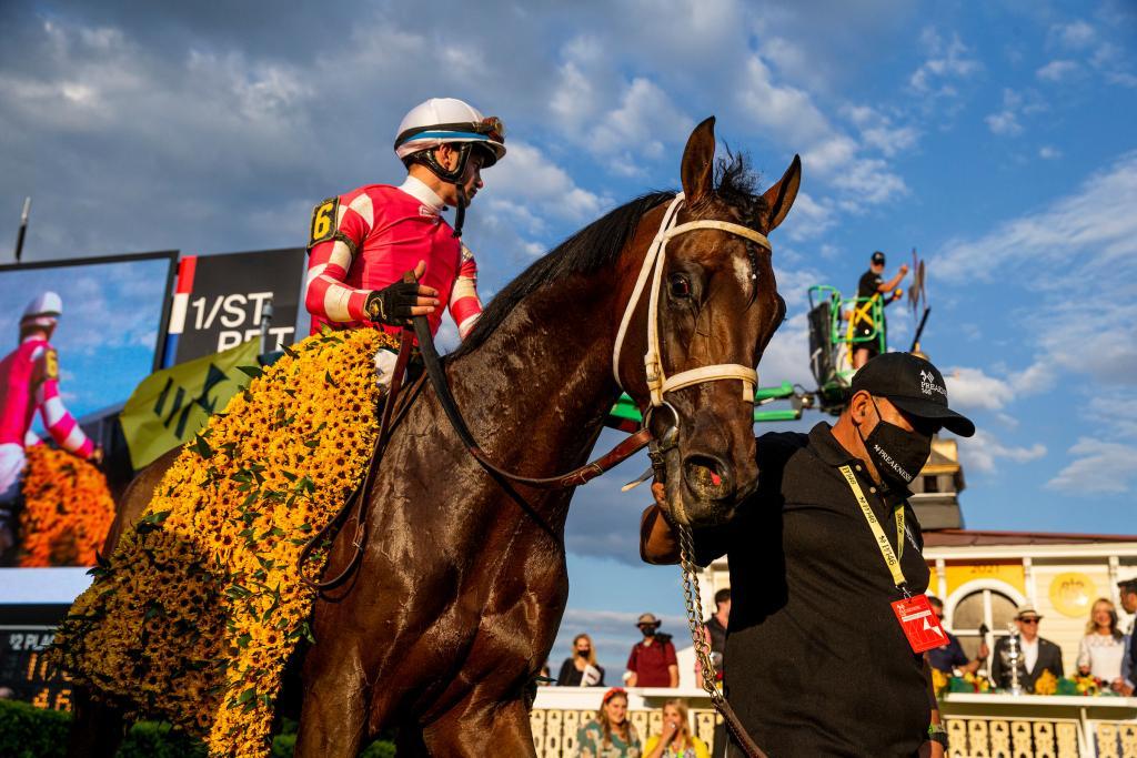 2021 Preakness winner Rombauer (Eclipse Sportswire)