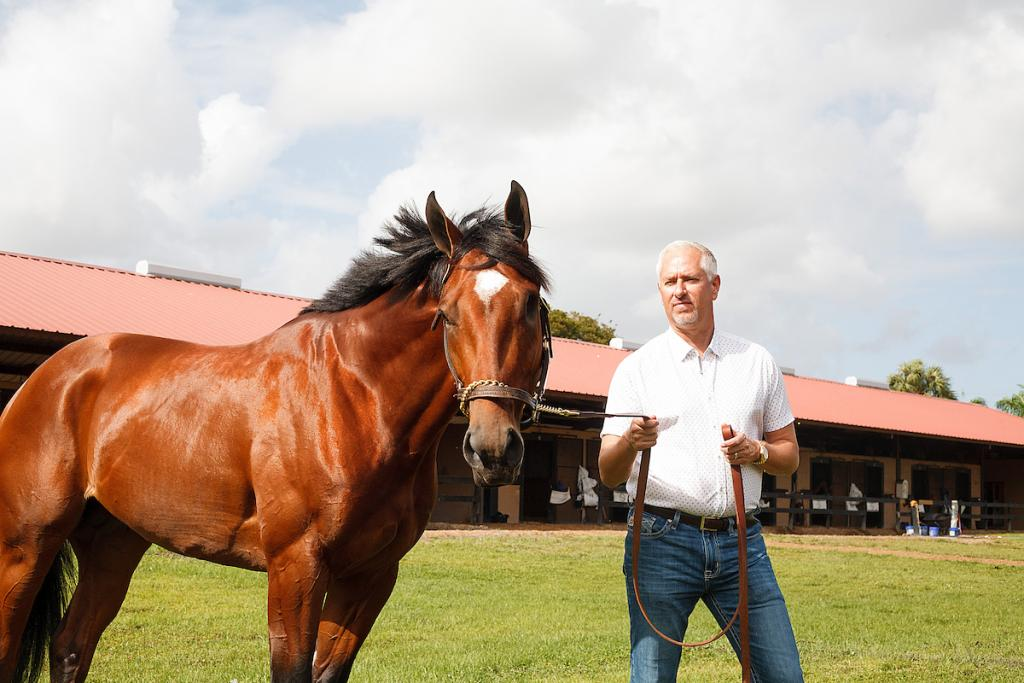 Patch at Palm Beach Downs in Florida. (Eclipse Sportswire)