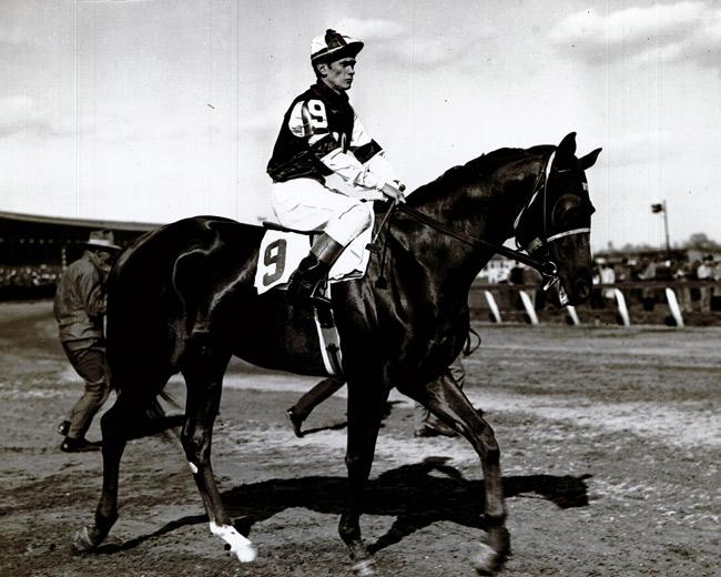 Assault on the track. (Keeneland Library)