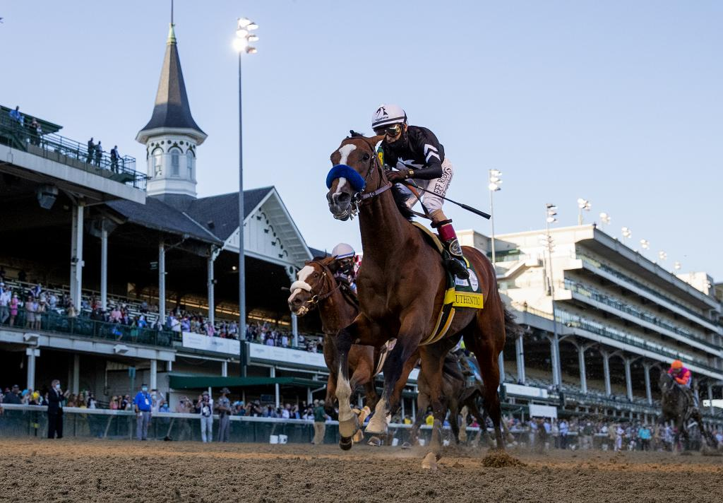 2020 Kentucky Derby Presented by Woodford Reserve winner Authentic. (Eclipse Sportswire)
