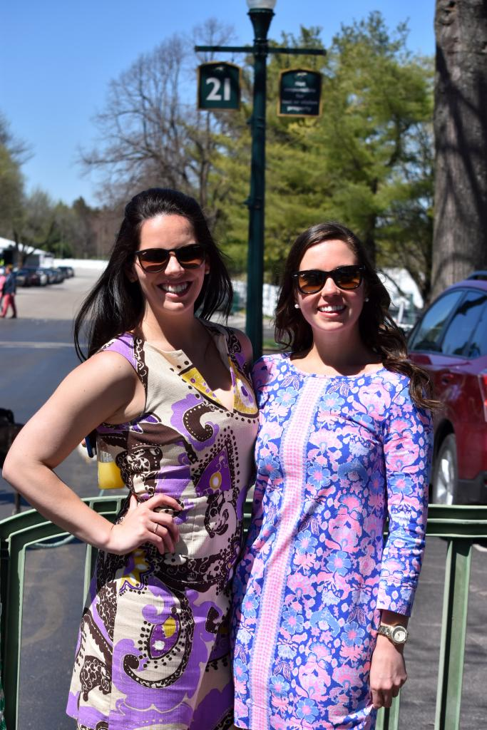 As to be expected at Keeneland, fashion was seen everywhere with a very festive display of outfits. (Melissa Bauer-Herzog/America's Best Racing)