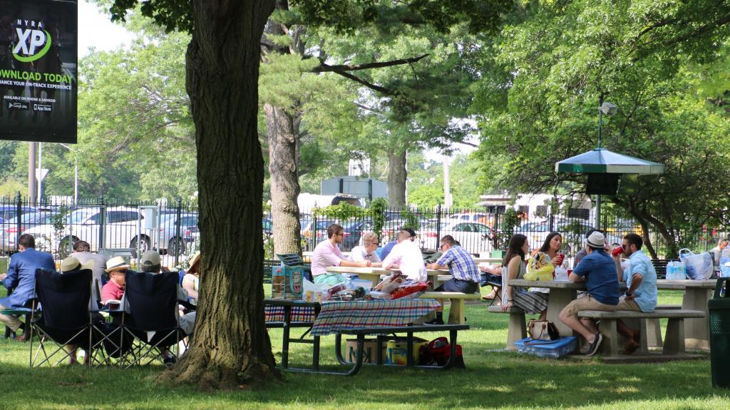 The Belmont Backyard is picnic perfect. (Julie June Stewart photo)