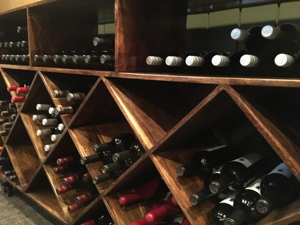 Wine cellar at Bone's Chophouse. (Courtesy of Bone's Chophouse)