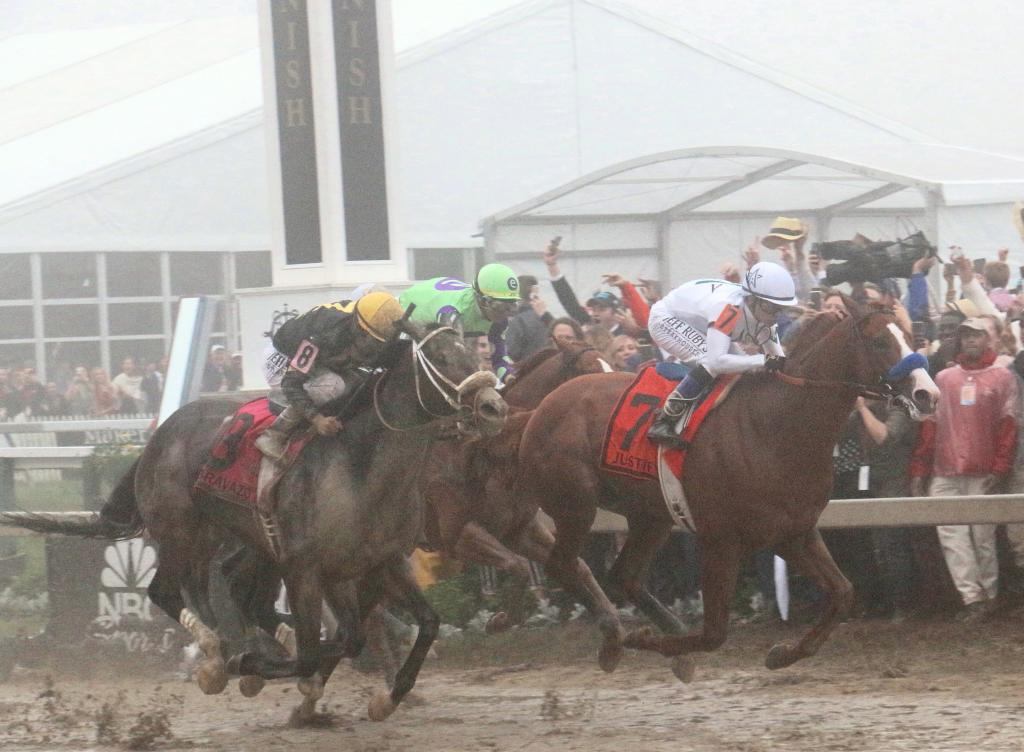 Bravazo challenged Justify but came up short in the Preakness. (Julie June Stewart photo)