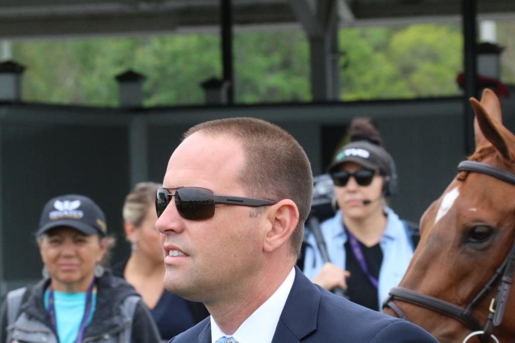 Two-time Eclipse Award-winning trainer Chad Brown. (Penelope P. Miller/America's Best Racing)