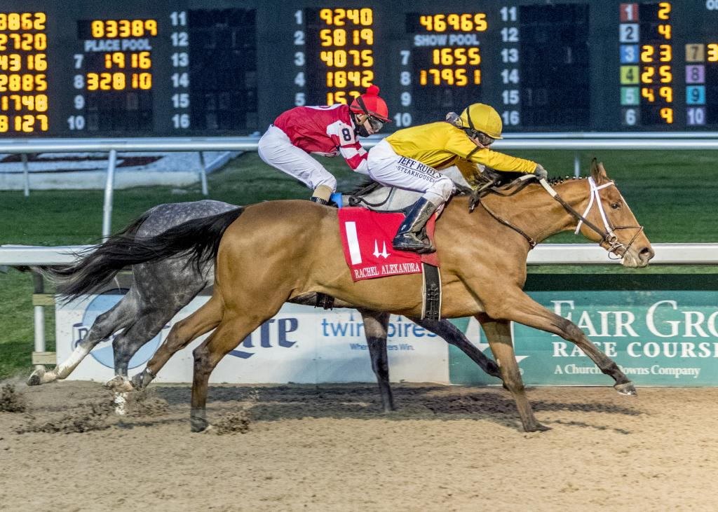 Rachel Alexandra Stakes Presented by Fasig-Tipton winner Clairiere. (Lou Hodges, Jr. /Hodges Photography)