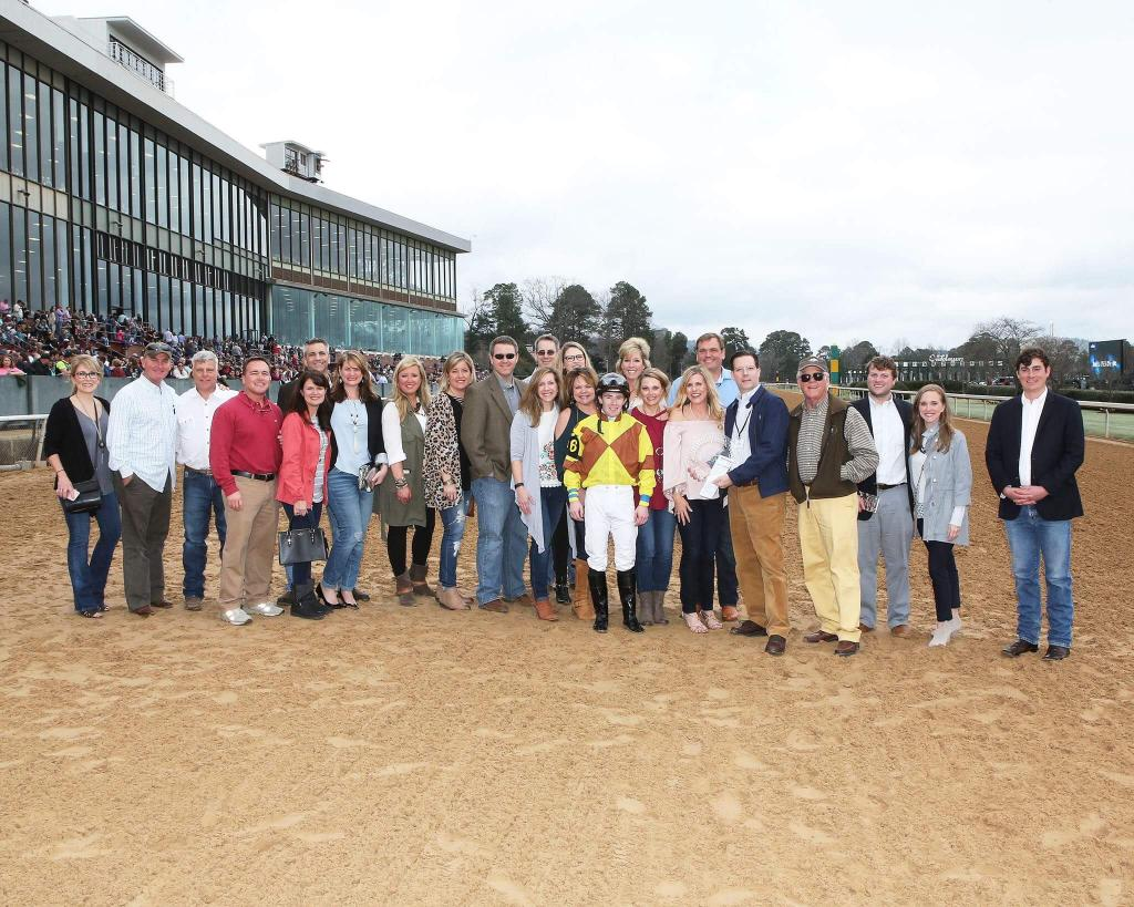 The fifth race winner's circle photo. (Coady Photography)