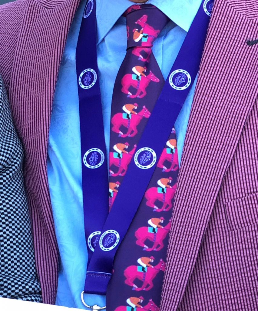 Colorful horse tie. (Julie June Stewart photo)