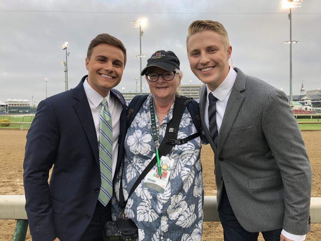 Daniel and Rob with author Julie June Stewart. (Julie June Stewart photo)