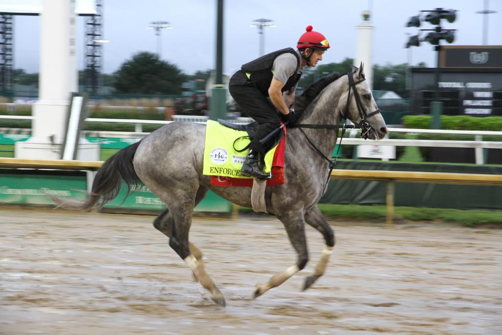 Enforceable will break from post position 3 (Annise Montplaisir/America's Best Racing)