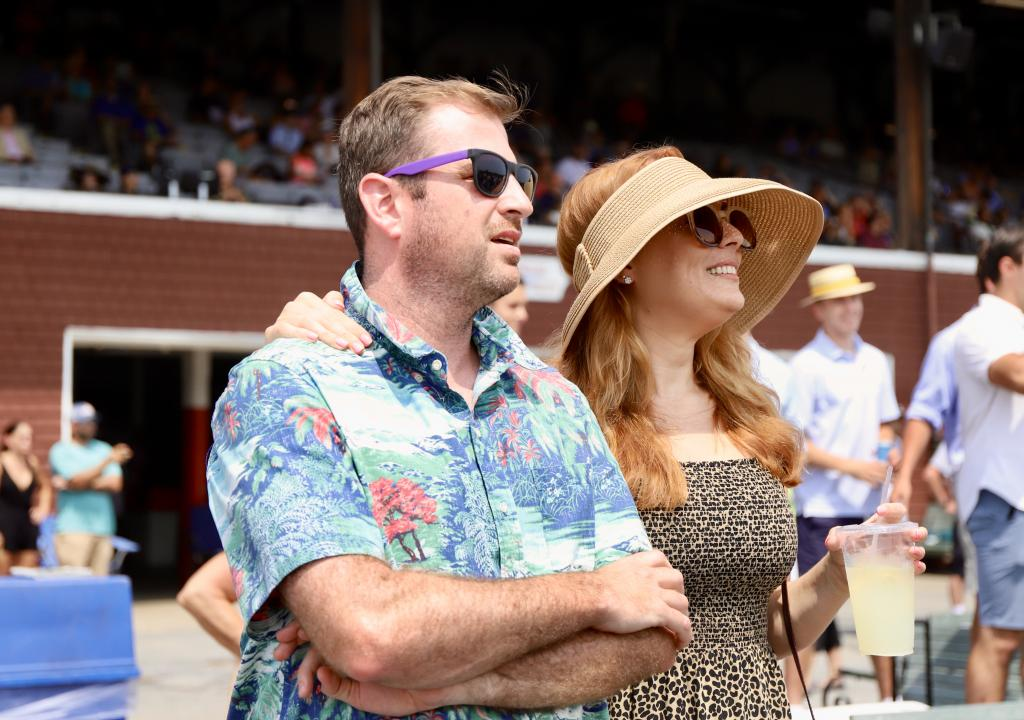 Scenes from Saratoga Race Course on Whitney day. (Penelope P. Miller/America's Best Racing)
