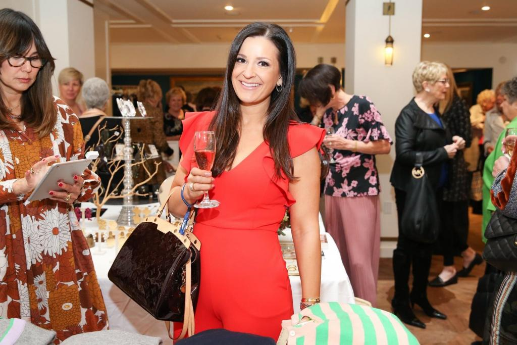 Scenes from the 2020 Fashionable Fillies event. (Courtesy of The Jockey Club Safety Net Foundation)