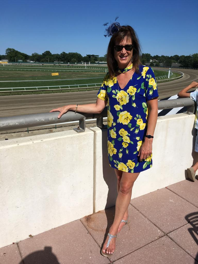 When your child decides on a career in horse racing, you might wind up loving it: That's what happened to Jeanne when her son attended University of Arizona Race Track Industry Program. He's now at Hoosier Park, and she's trackside most weekends. (Pia Catton photo)
