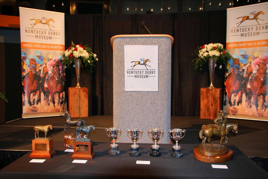 Items from the D. Wayne Lukas collection. (Julie June Stewart photo)