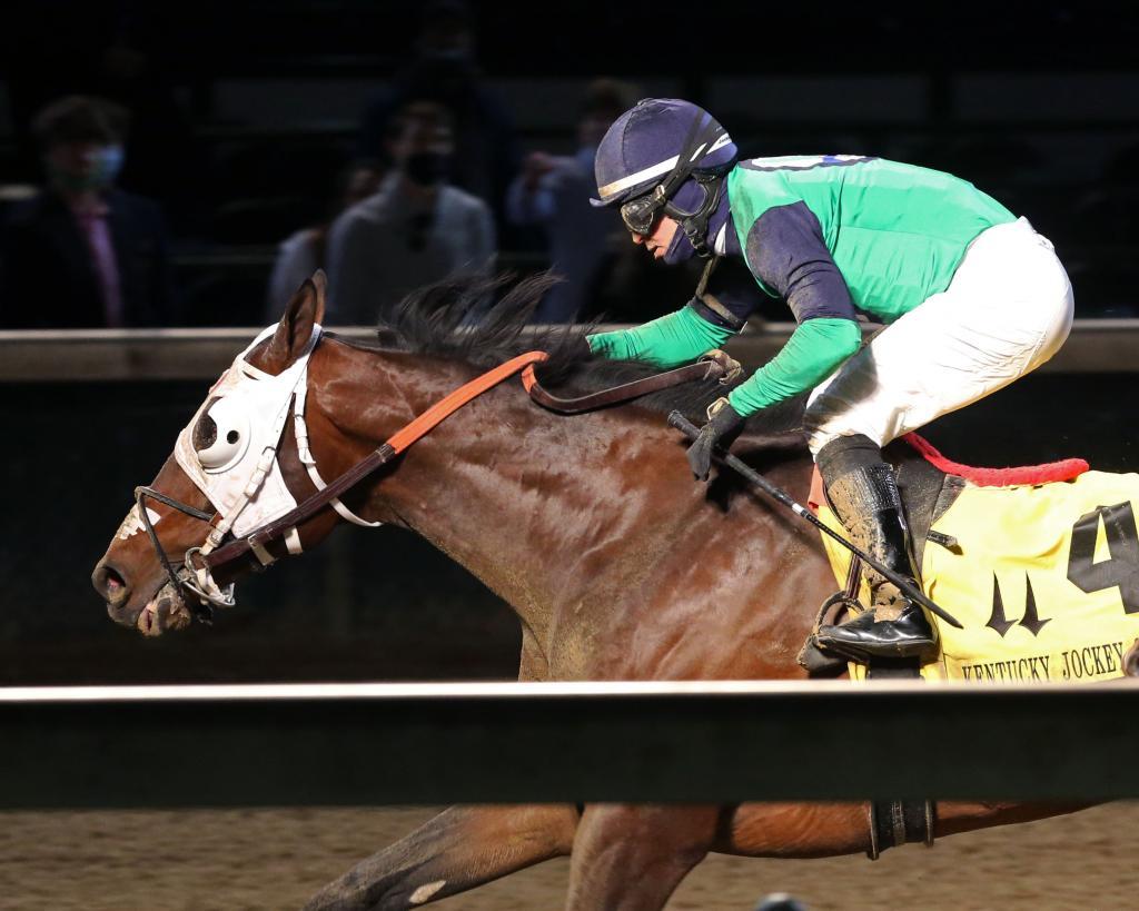 Kentucky Jockey Club Stakes winner Keepmeinmind.