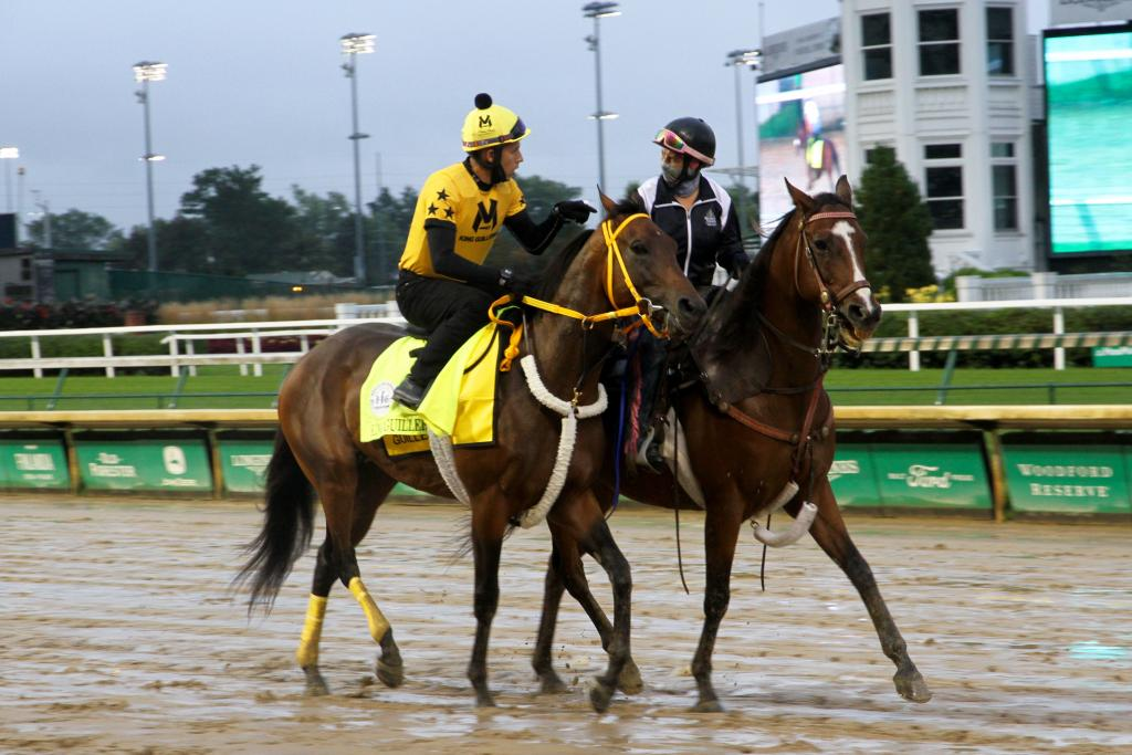 King Guillermo, who is owned by former MLB star Victor Martinez (Annise Montplaisir/America's Best Racing)