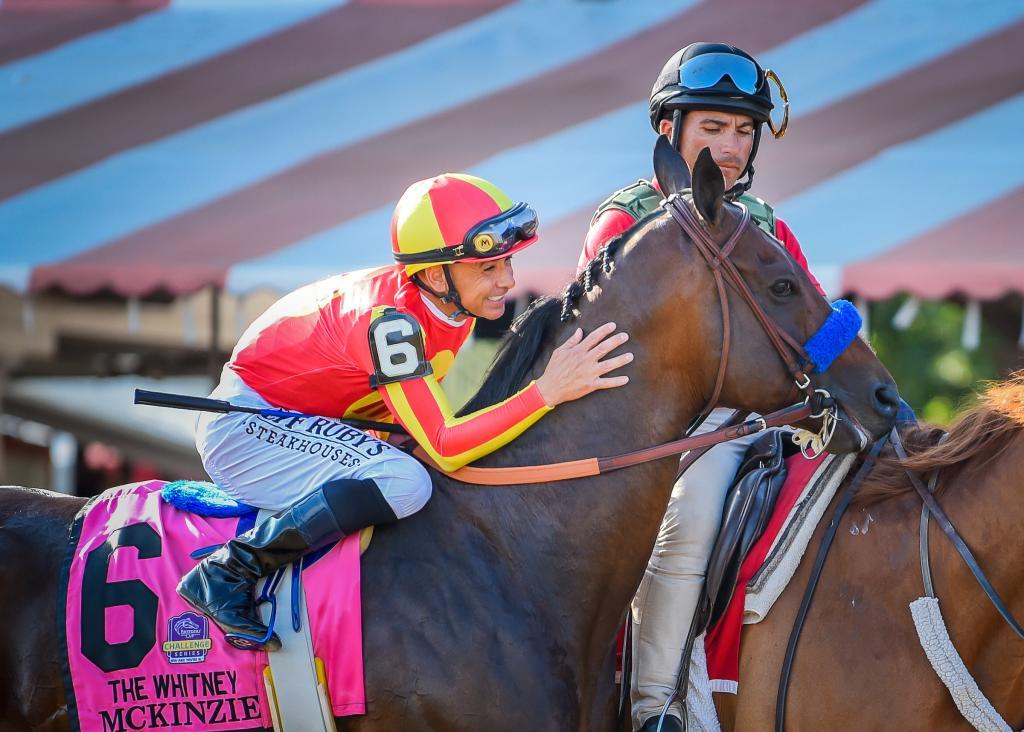 2019 Whitney Stakes winner McKinzie (Eclipse Sportswire)