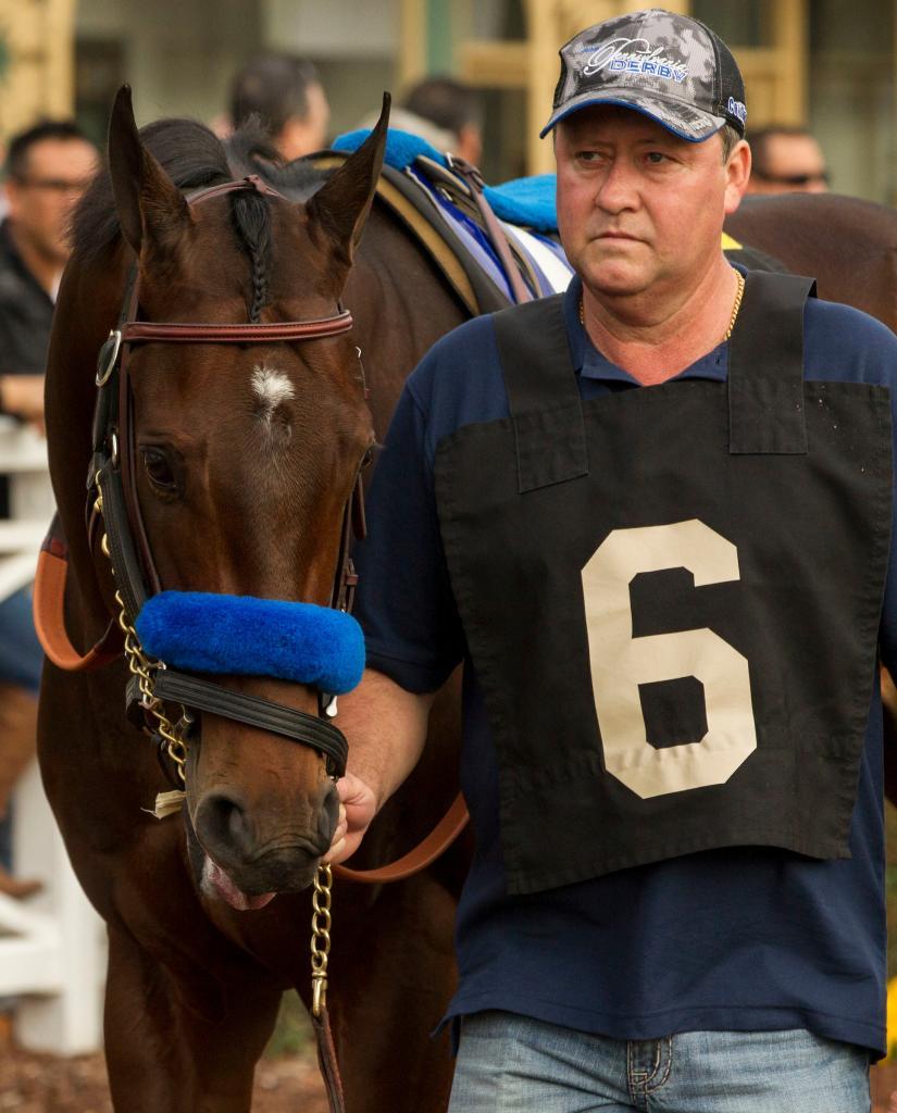 Pennsylvania Derby winner McKinzie. (Eclipse Sportswire)