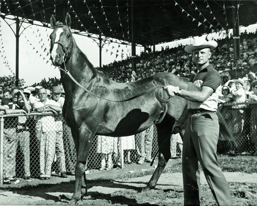 Omaha at Ak-Sar-Ben race track. (BloodHorse Library)
