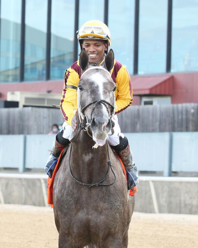 Fantasy Stakes winner Pauline's Pearl. (Coady Photography)