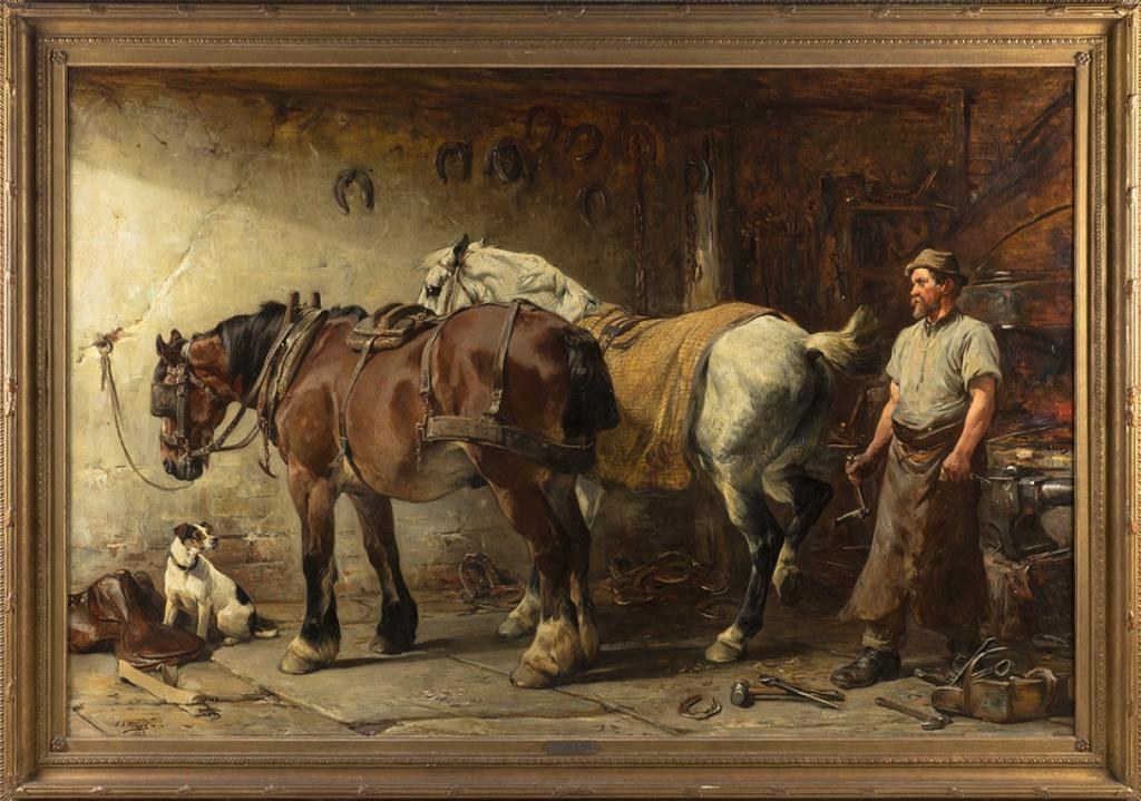 Passion and Patience, by John Sargeant Noble (Courtesy of Cross Gate Gallery)