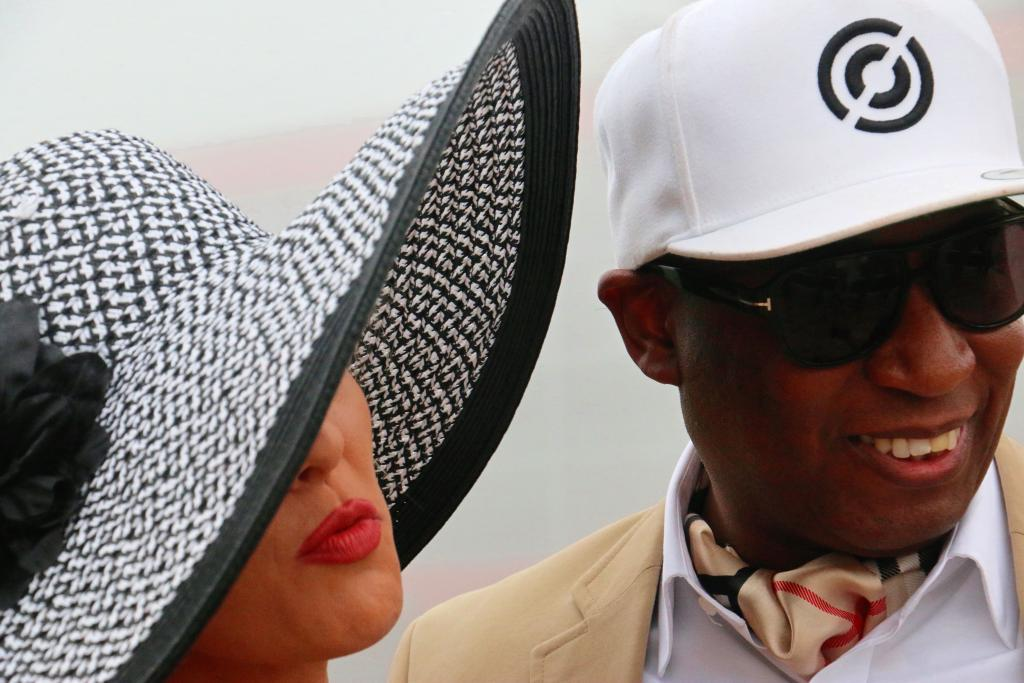 Preakness attendees. (Julie June Stewart photo)