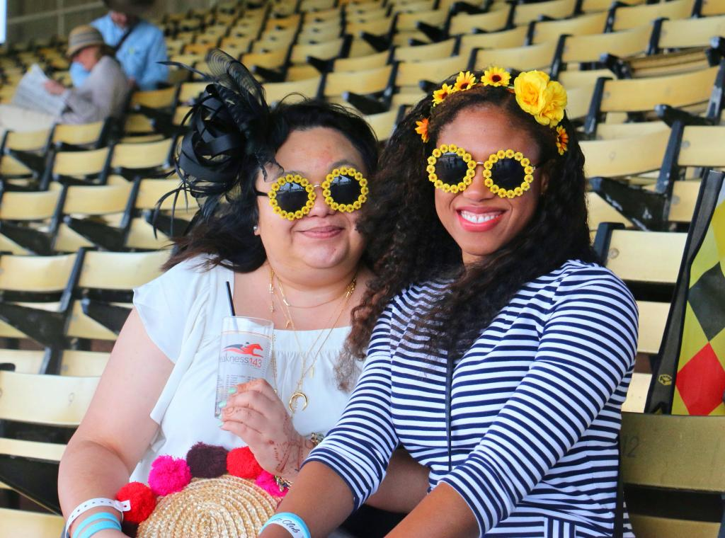 Preakness fun. (Julie June Stewart photo)