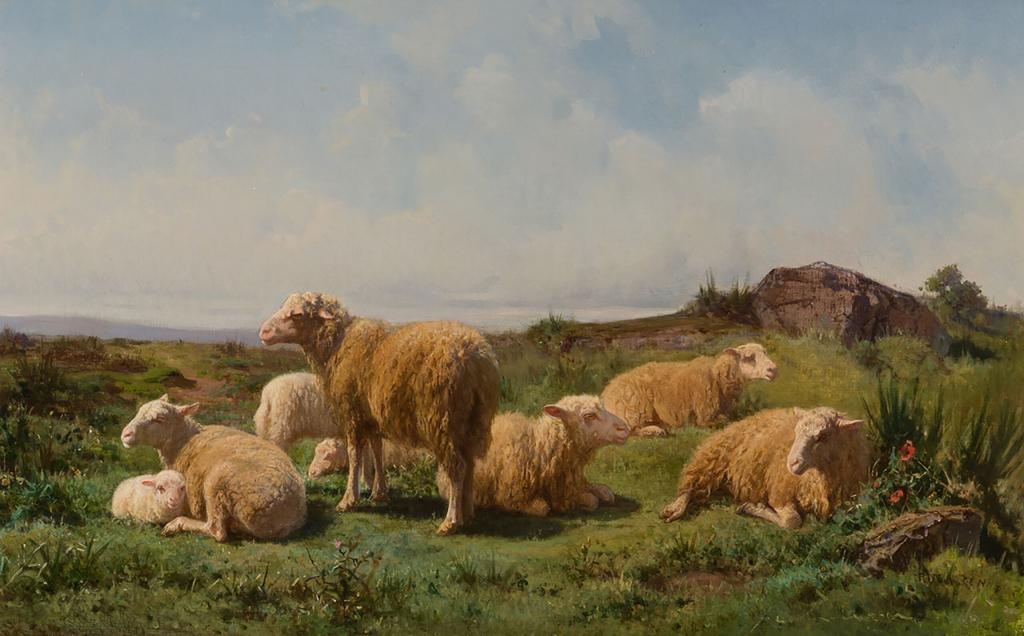 """Quiescence"" by Rosa Bonheur (Courtesy Cross Gate Gallery)"