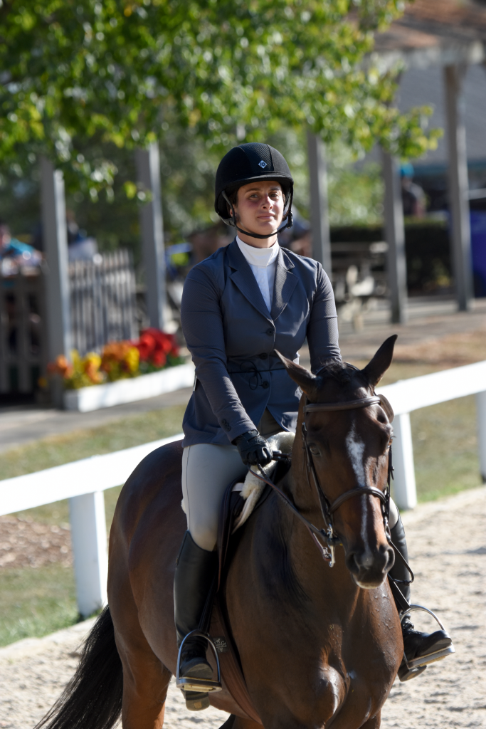 Diplomat competed in the Show Hunters discipline. (Melissa Bauer-Herzog/America's Best Racing)