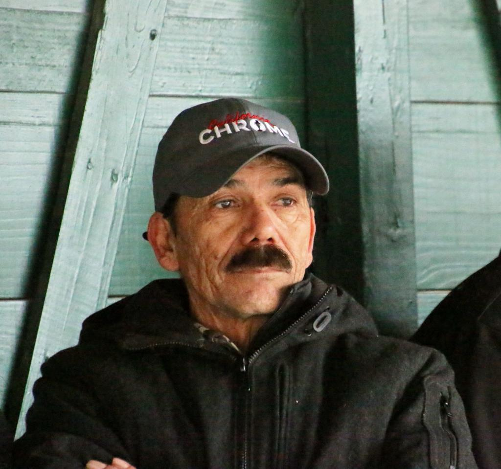Raul Rodriguez, who worked daily with California Chrome throughout his career, caught in deep thought. (Julie June Stewart photo)