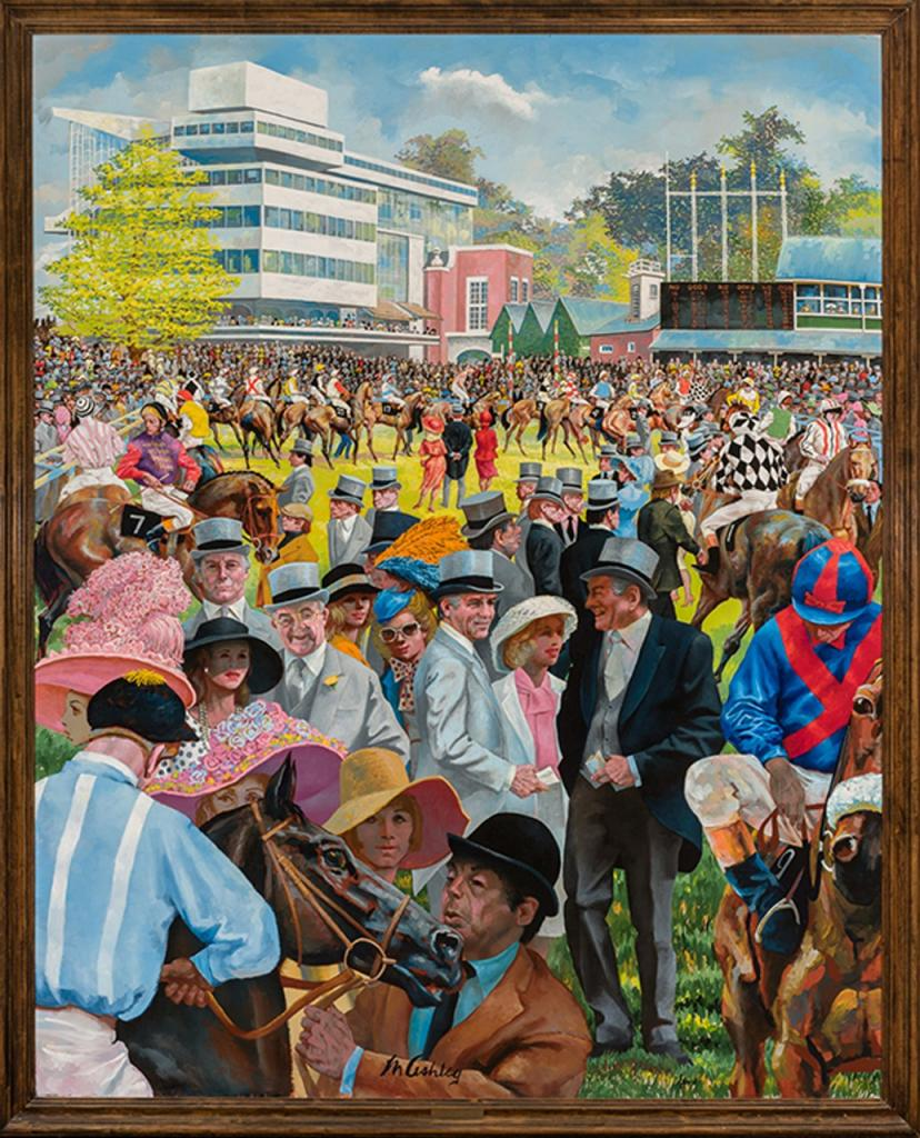 Royal Ascot, 1983, by Frank Ashley (Courtesy of Cross Gate Gallery)