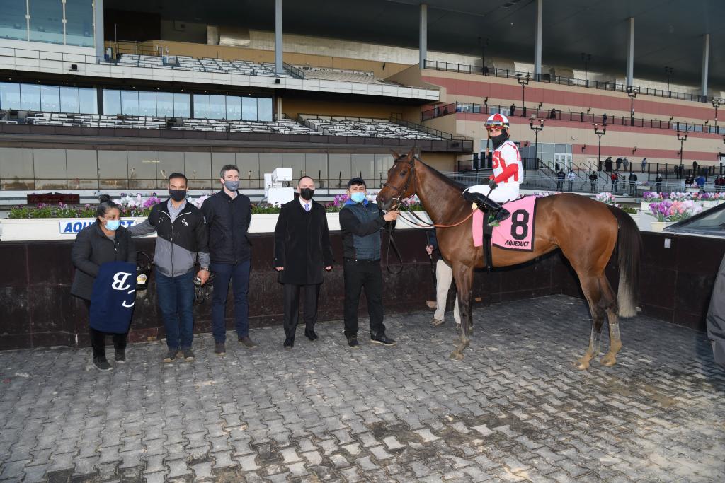 Unbeaten Gazelle Stakes winner Search Results. (Adam Coglianese/NYRA)