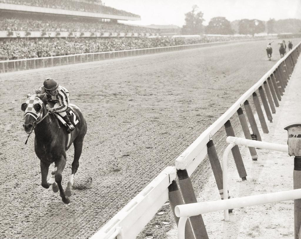 Secretariat's 1973 Belmont Stakes win. (Coglianese Photo/Blood-Horse Library)