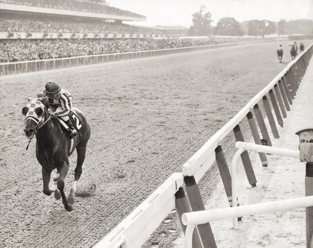 Secretariat's 1973 Belmont Stakes win. (Coglianese Photo/BloodHorse Library)