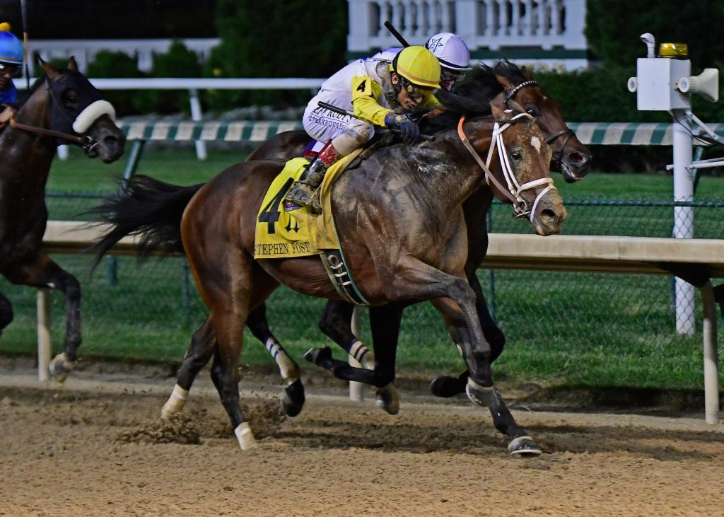 Grade 1 winner Seeking the Soul (Eclipse Sportswire)