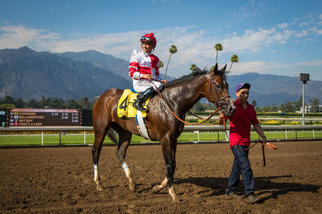 After a win in the Summertime Oaks. (Eclipse Sportswire)