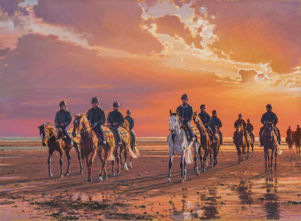 """Sunrise Outriders,"" by Peter Smith"