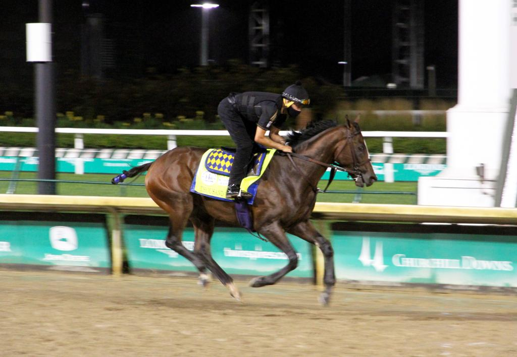 Thousand Words is one of two Kentucky Derby contenders trained by Bob Baffert (Annise Montplaisir/America's Best Racing)