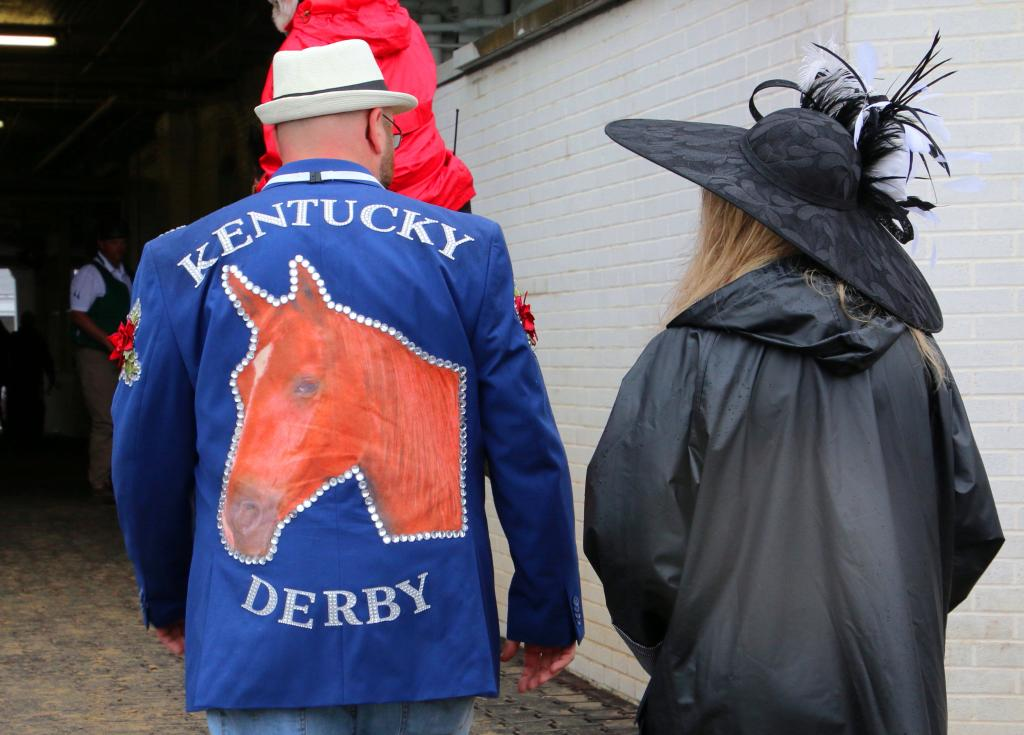 A unique Derby jacket. (Julie June Stewart photo)
