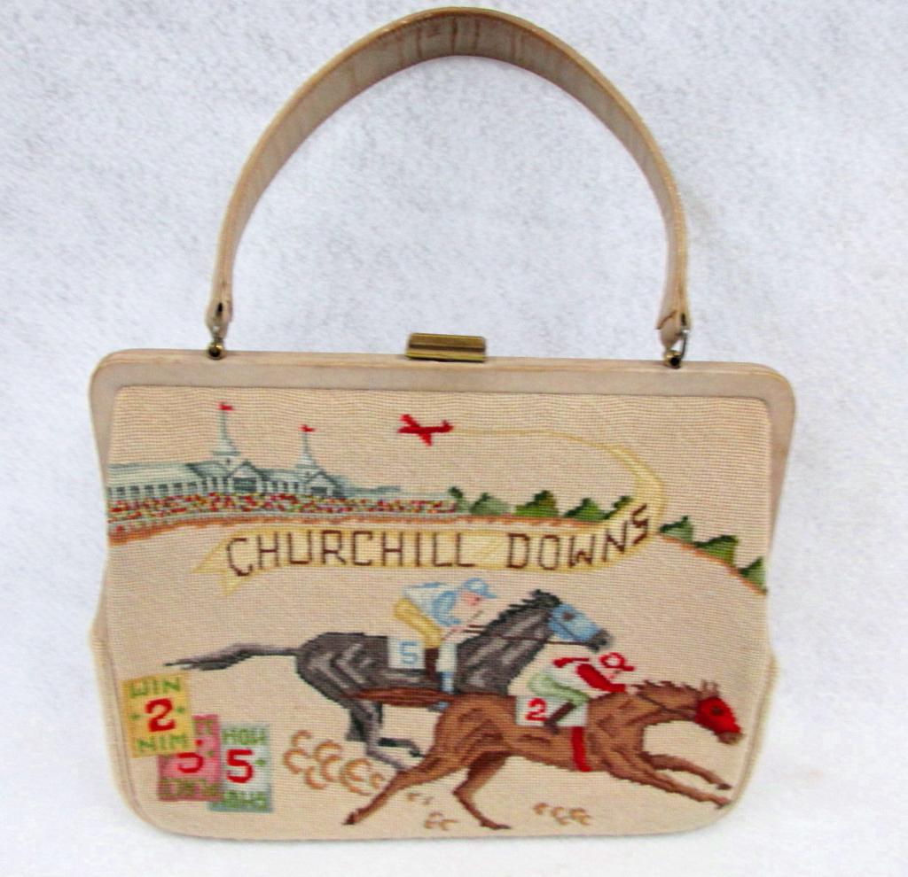 Vintage Meeker purse (Courtesy Kentucky Derby Museum)