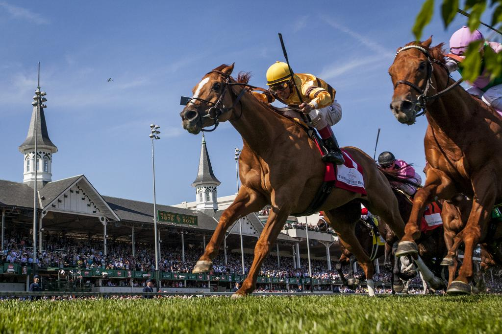 Wise Dan's 2014 Woodford Reserve Turf Classic victory. (Eclipse Sportswire)
