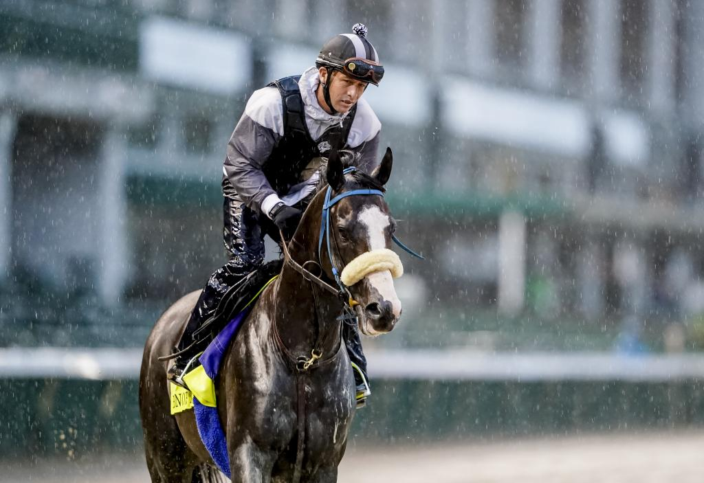 Honor A. P. training in the rain  (Eclipse Sportswire)