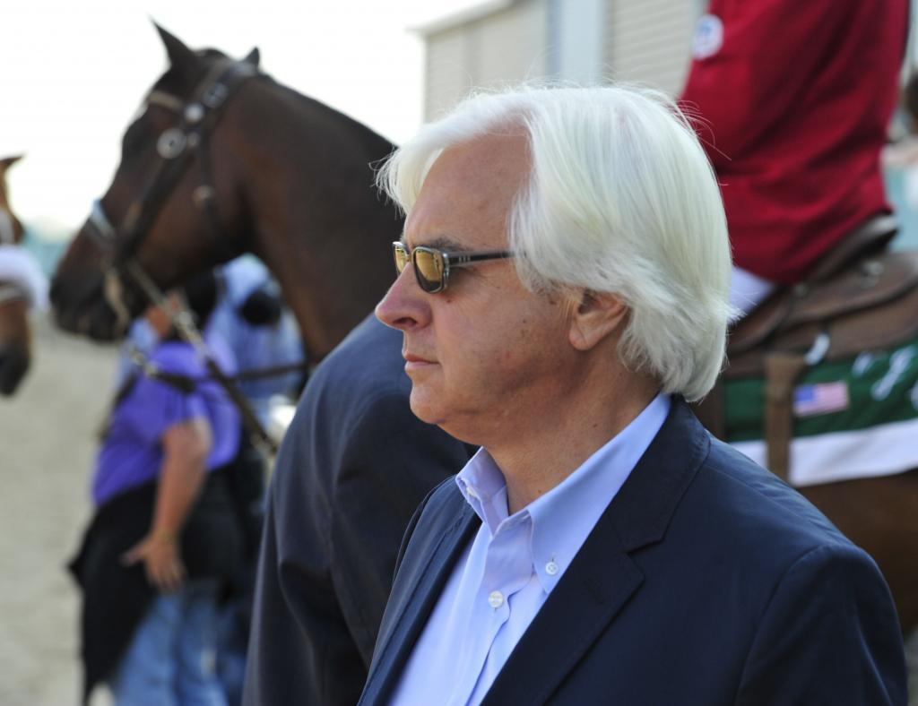 With an easygoing demeanor, it's easy to underestimate Baffert's intensity. (Eclipse Sportswire)