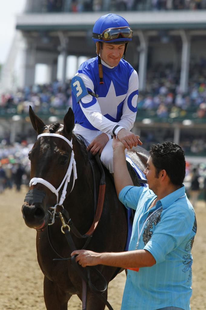 Tepin after the 2015 Churchill Distaff Turf Mile Stakes. (Eclipse Sportswire)
