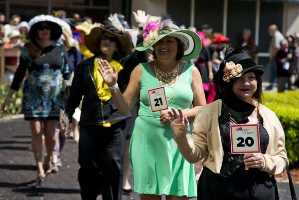 Louisiana Derby Fashion Parade Of Hats America S Best