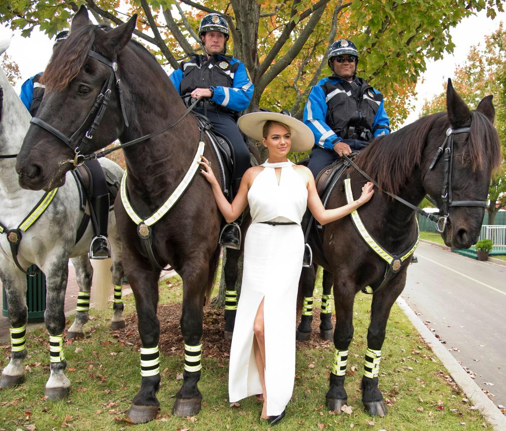 Kate Upton at the 2015 Breeders' Cup World Championships at Keeneland.